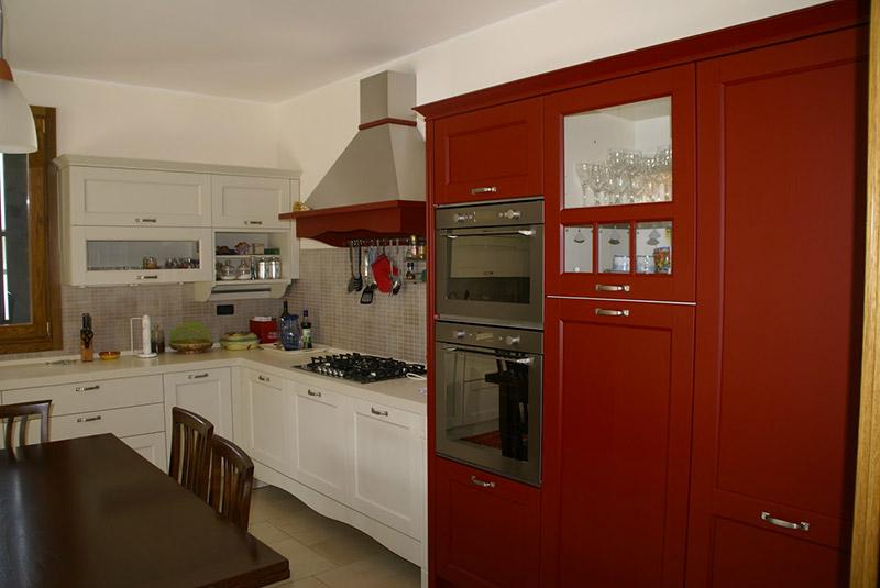 cucina larice spazzolato padova, veneta cucine padova ...