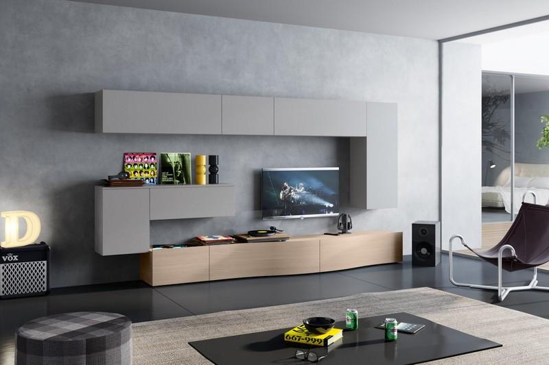 Soggiorni padova parete attrezzata 586 arredamento padova for Arredamento soggiorno moderno in legno