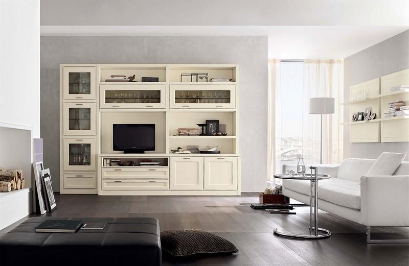 Soggiorni padova mobili per soggiorno collezione florian for Soggiorni bianchi