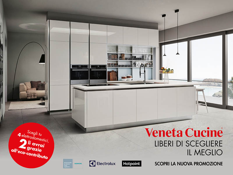 Promo 2018 - Veneta Cucine - Minelle Arredamenti