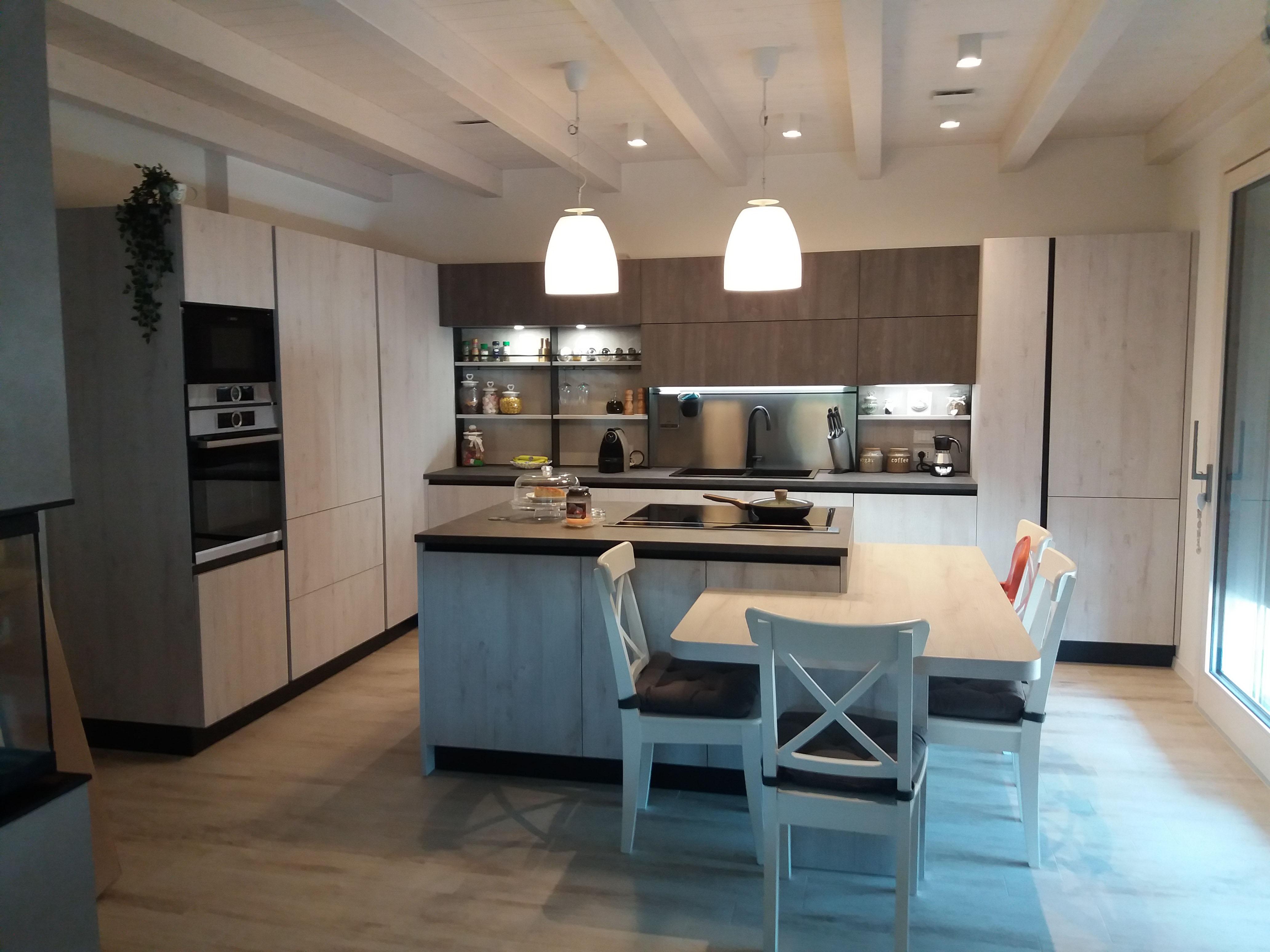 Cucina -OYSTER DEK- Veneta Cucine - Minelle Arredamenti