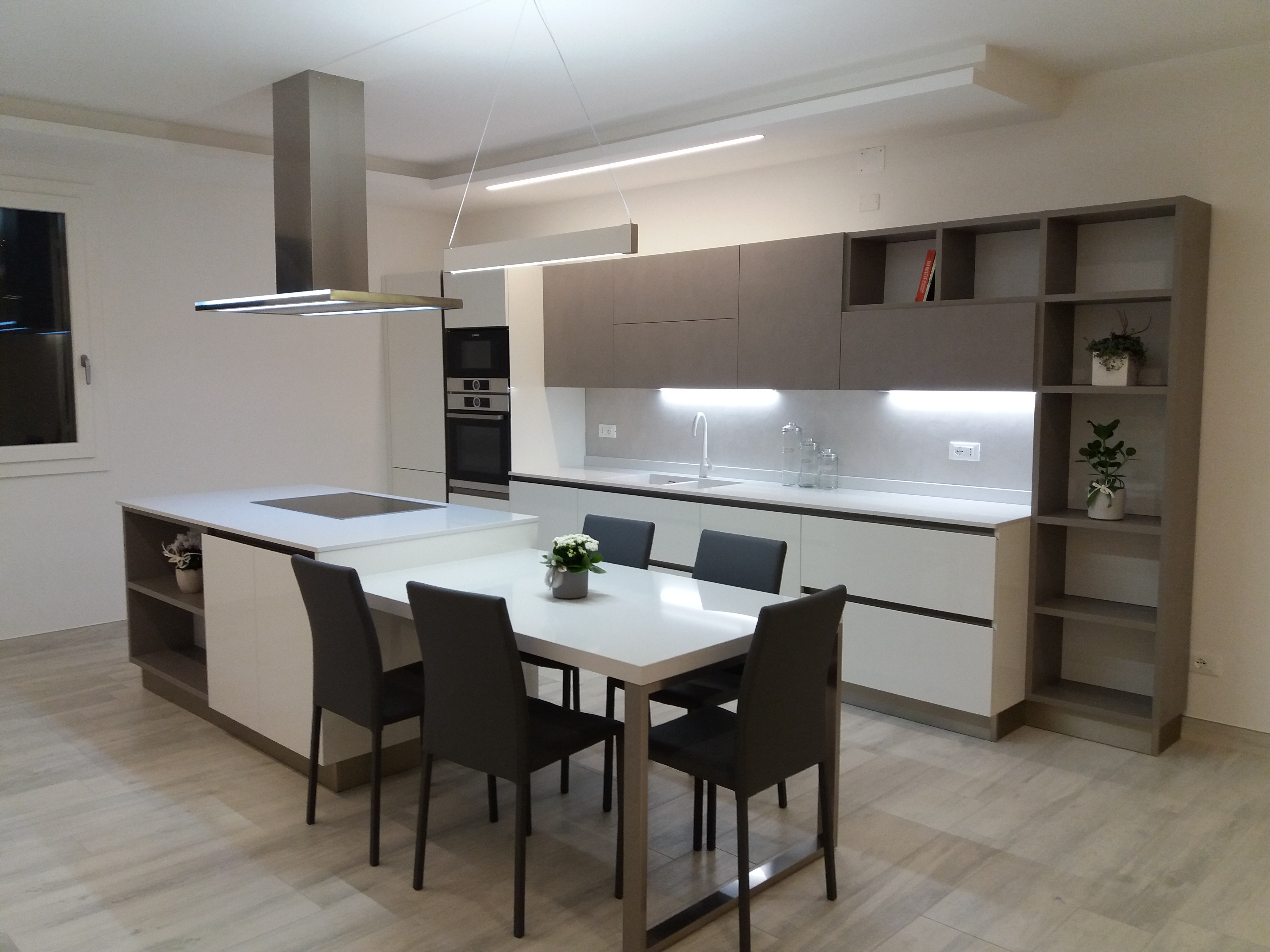 Cucina -OYSTER LACCATA- Veneta Cucine